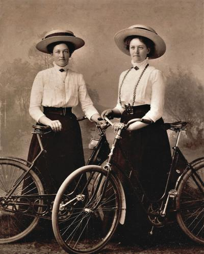 Two women with safety bikes.jpg