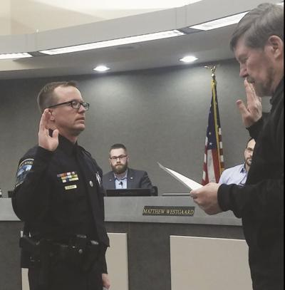 Eric Balabon promoted to ERPD's detective sergeant
