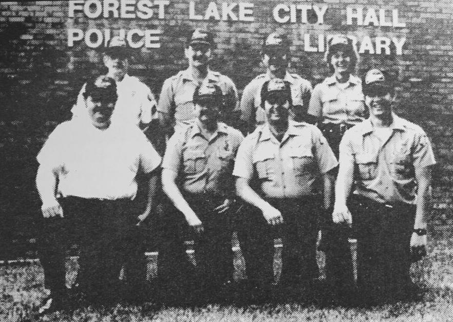 Full-time police officers in 1984