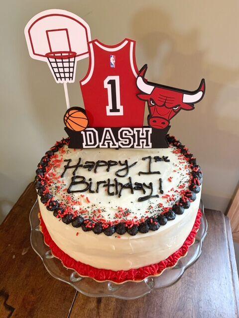 Dash birthday cake