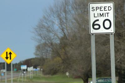 Speed limit increase to 60 m.p.h. on Highway 95