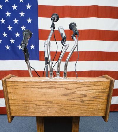 podium-flag-microphones-election
