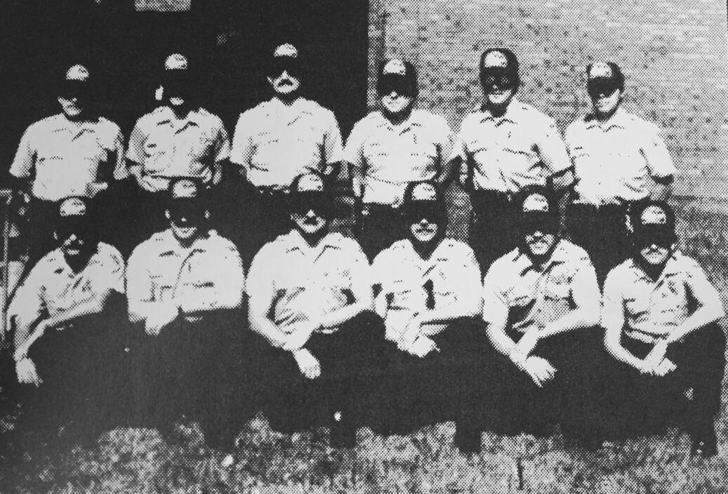 Part-time police officers in 1984