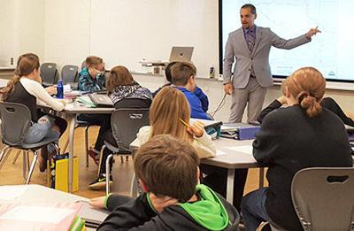 Sixth graders learn how bills become laws