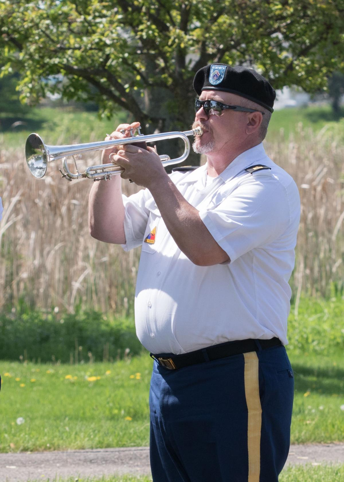 Legion salutes honor guard commander on Memorial Day | Elk ...