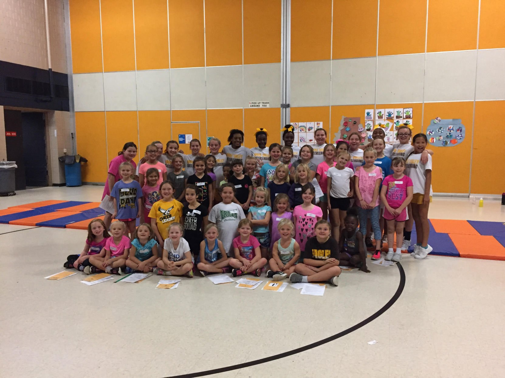 Apple Valley elementary cheer program participation triples