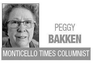 Peggy Bakken column logo BW MT