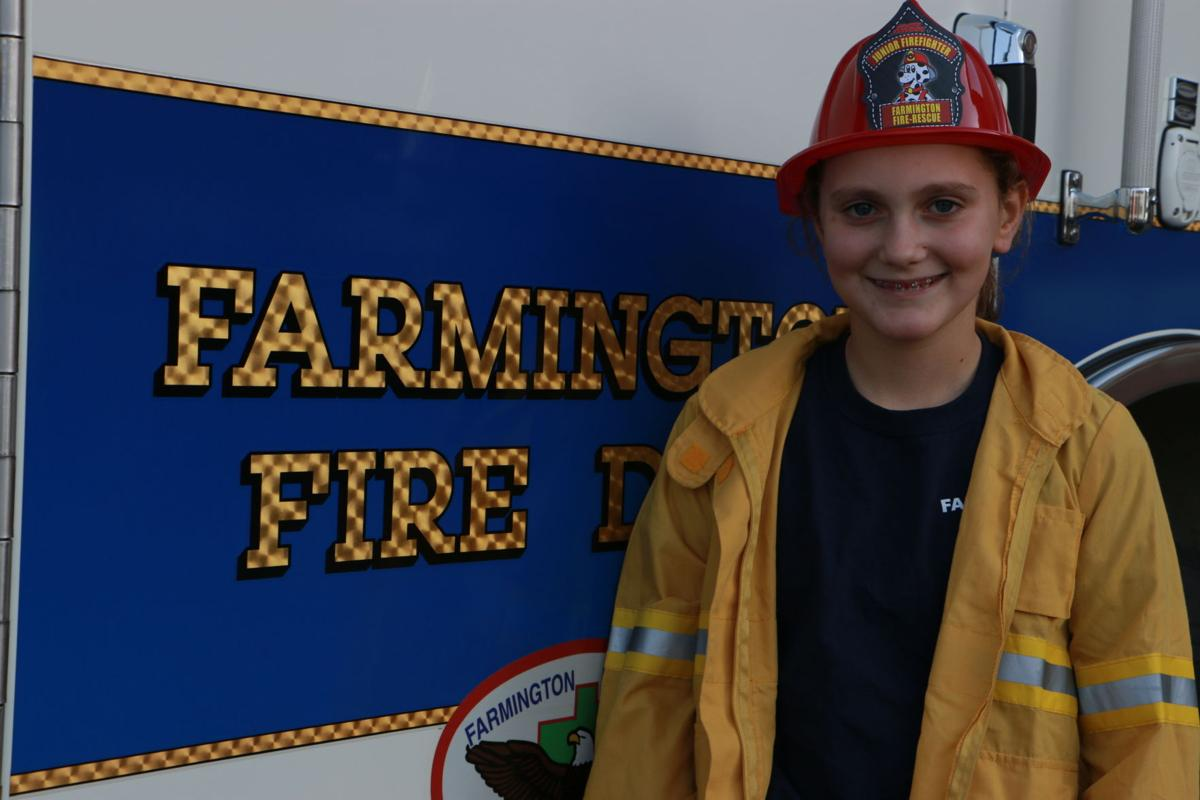 Dreams of becoming a firefighter