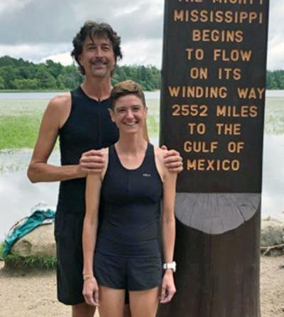 Married couple runs the length of the Mississippi River for 'Relay of Voices'