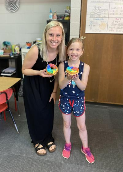 School project leads to community doughnuts