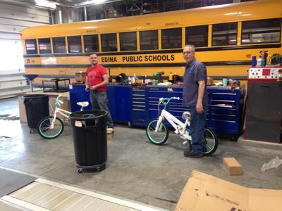 Edina Schools Transportation Workers Not Playing Around With Toy