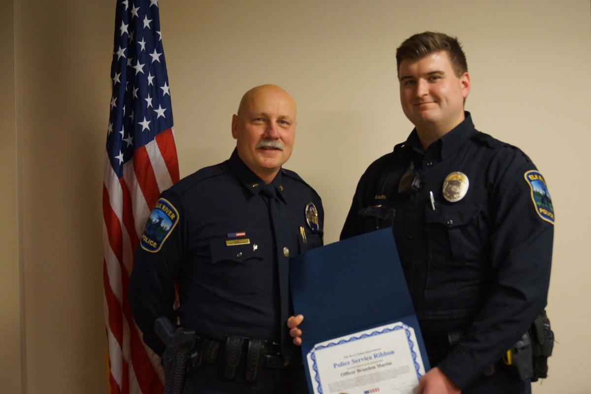 ERPD recognizes officers for their extraordinary efforts in 2018