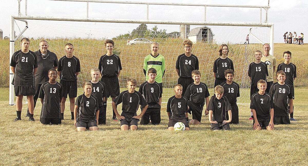 Boys soccer JV team