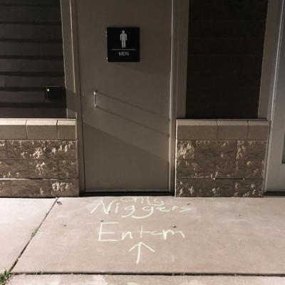 Racist message at Pamela Park in Edina