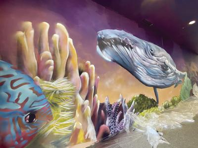Limpio brings the ocean to life at community center