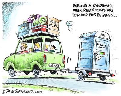 Editorial cartoon for June 20, 2020.