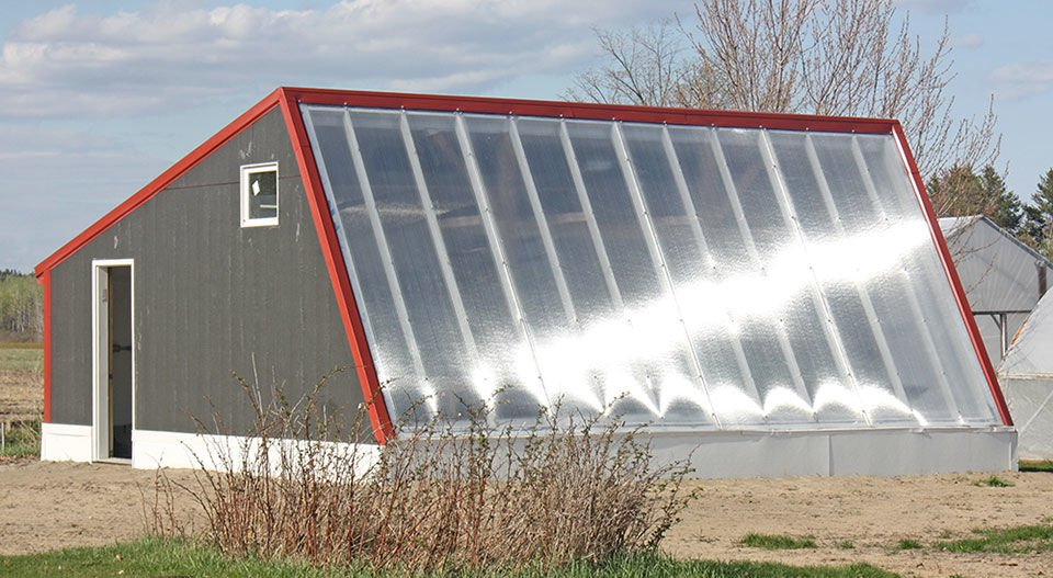 Deep Winter Greenhouse allows Grampa G's Farm to grow vegetables year round