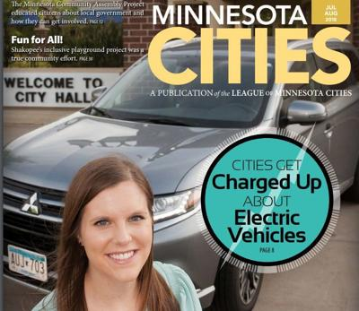 Elk River featured on cover of Minnesota Cities magazine