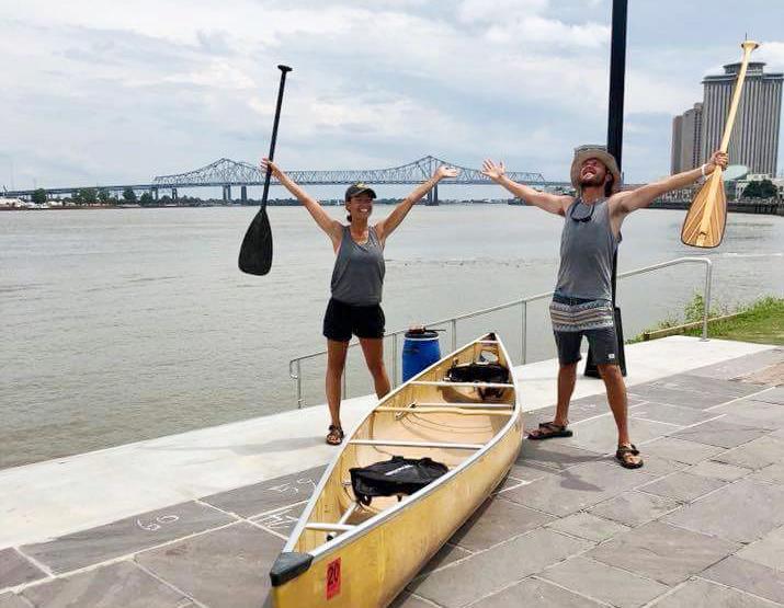 Paddle trip - finish