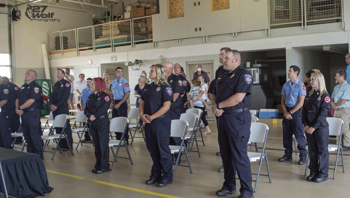 Osseo Fire welcomes record 7 new recruits
