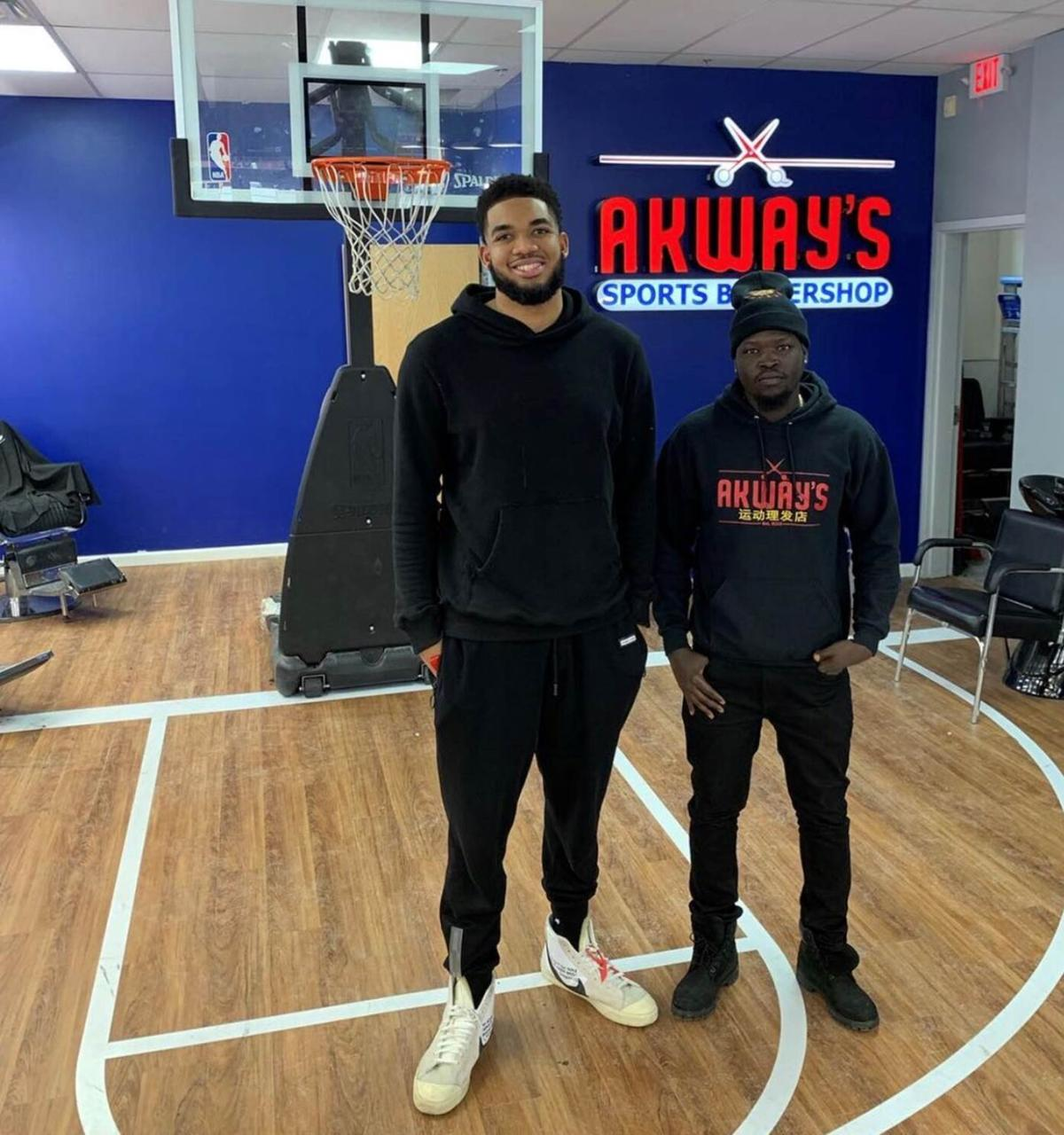 SP Akeem Akway with Karl-Anthony Towns.jpg