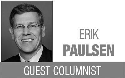 Erik Paulsen column logo MT