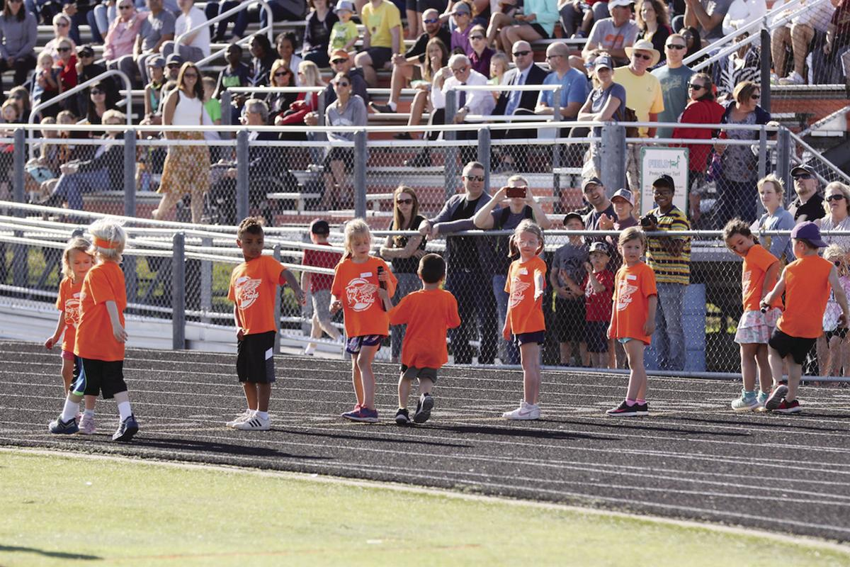 Young athletes enjoy Osseo High Track and Field Youth Program
