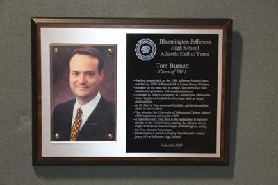 bloomington tom burnett plaque