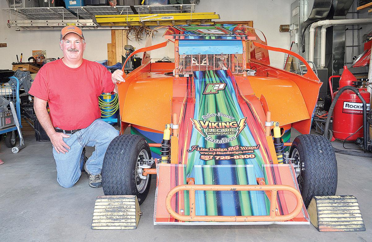 Small cars, big thrills Caledonia driver making his mark in