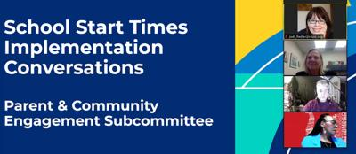 Robbinsdale start times subcommittee