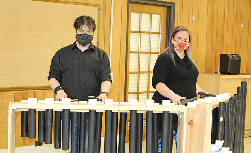 St. Francis music instructors builds tubulum