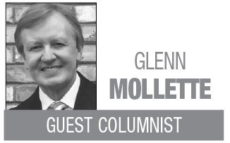 Glenn Mollette MT column logo