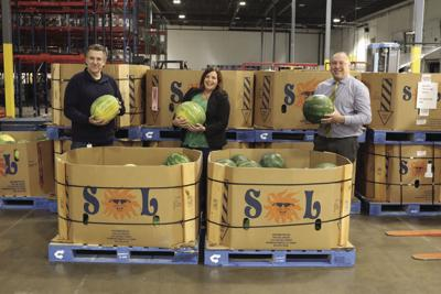More than 2,000 jumbo watermelons donated to Second Harvest Heartland