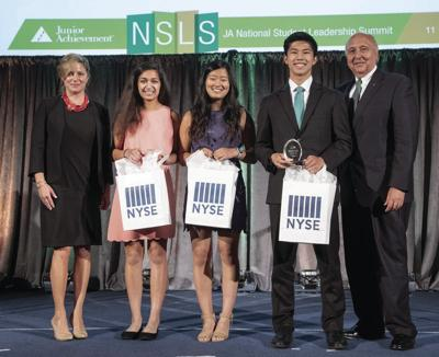 MGSH students win national Junior Achievement award