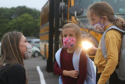 Loveland reflects on first day as principal of Parker Elementary School
