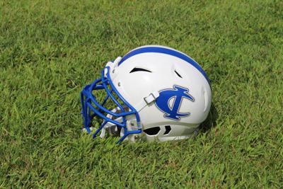 Cambridge-Isanti football helmet