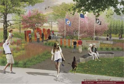 Veterans Memorial dedication at Central Park of Maple Grove is July 14