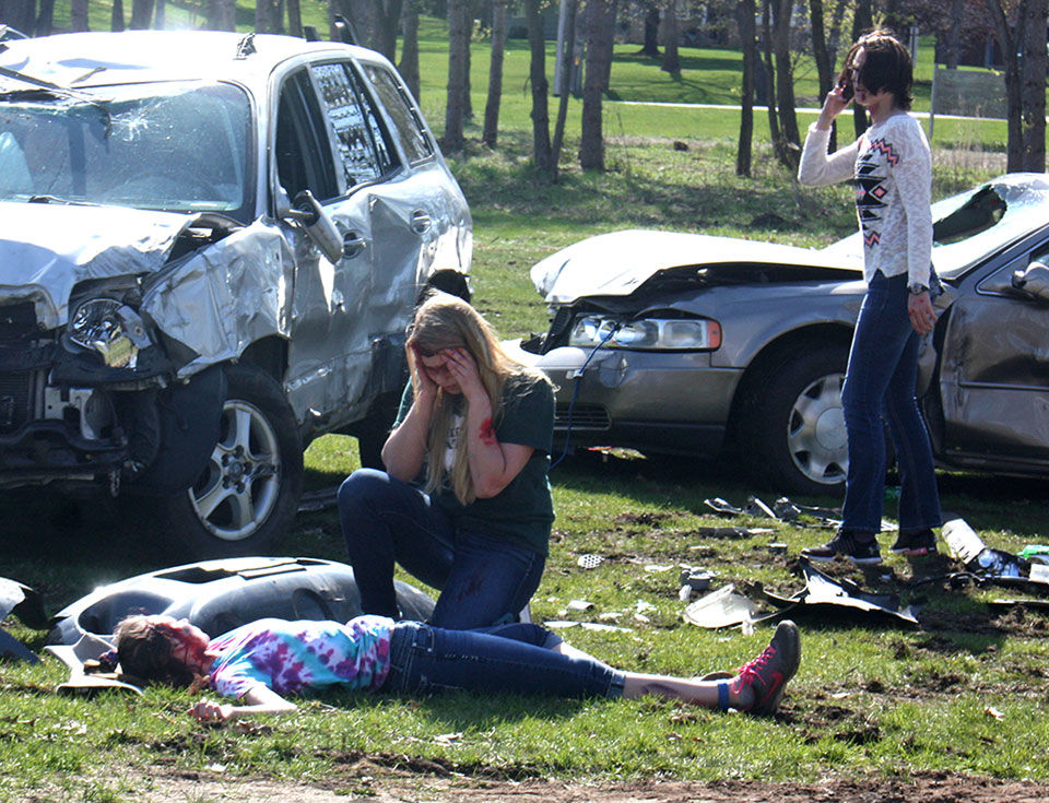 Students witness gruesome reality of poor driving decisions