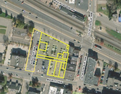 City grants developer shot at downtown
