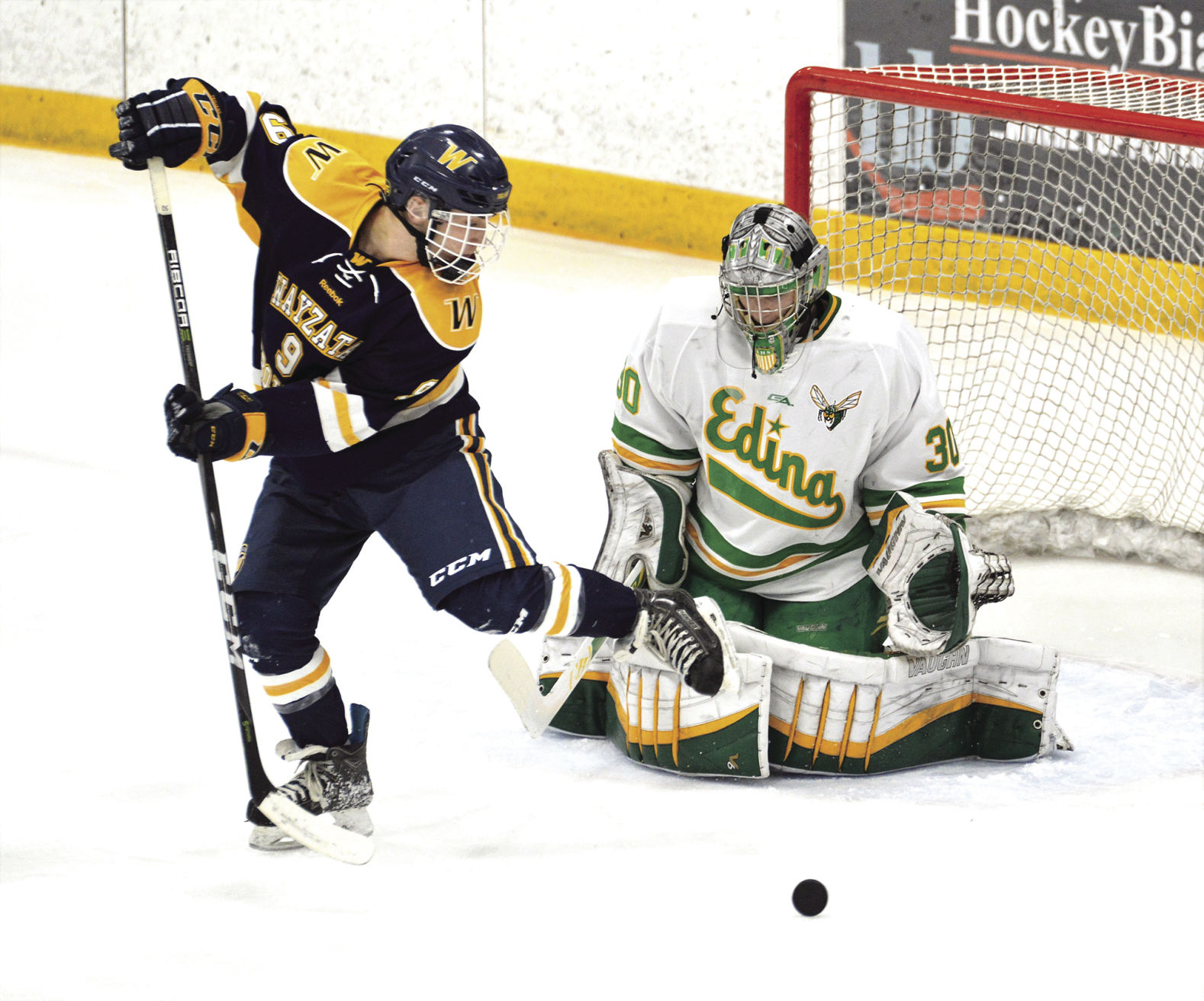MN H.S.: Hornet Boys Can't Be Denied In Lake Hockey Title Race