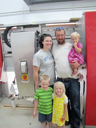 Young couple builds Todd County's first robotic dairy farm