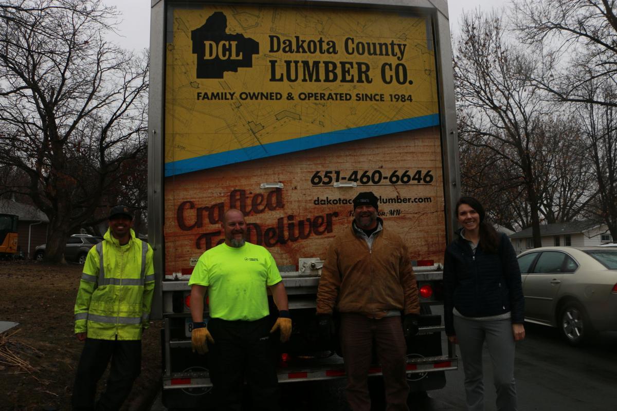 Dakota County Lumber donates truck, drivers for goodwill trip