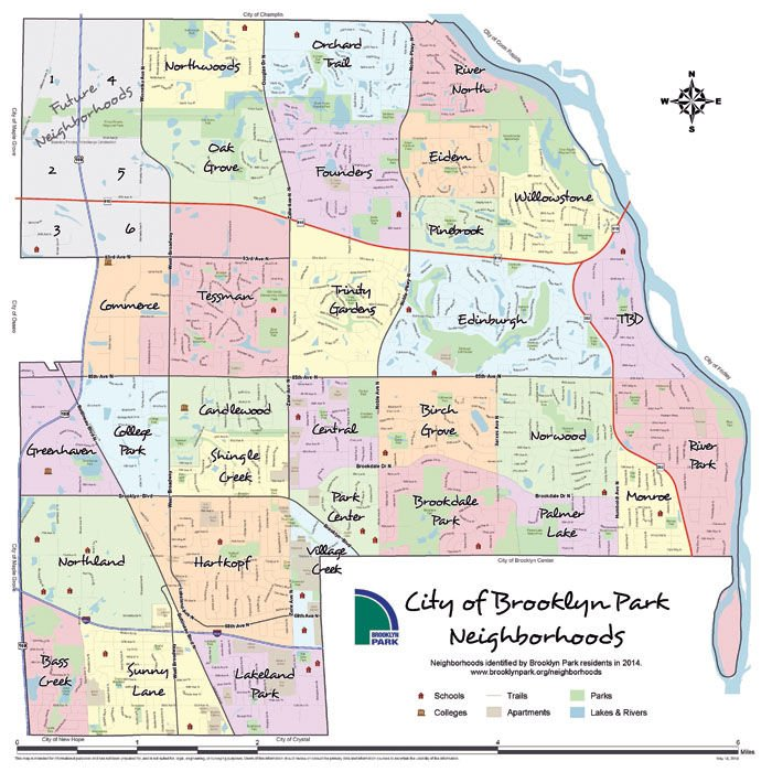 Brooklyn Park neighborhood map names approved Local News