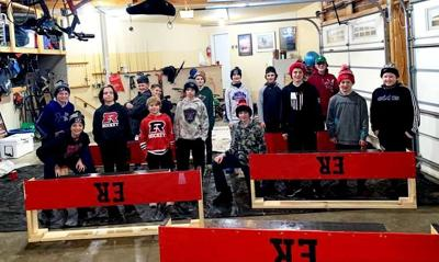 Elk River PeeWee A hockey team scores assist for city rinks