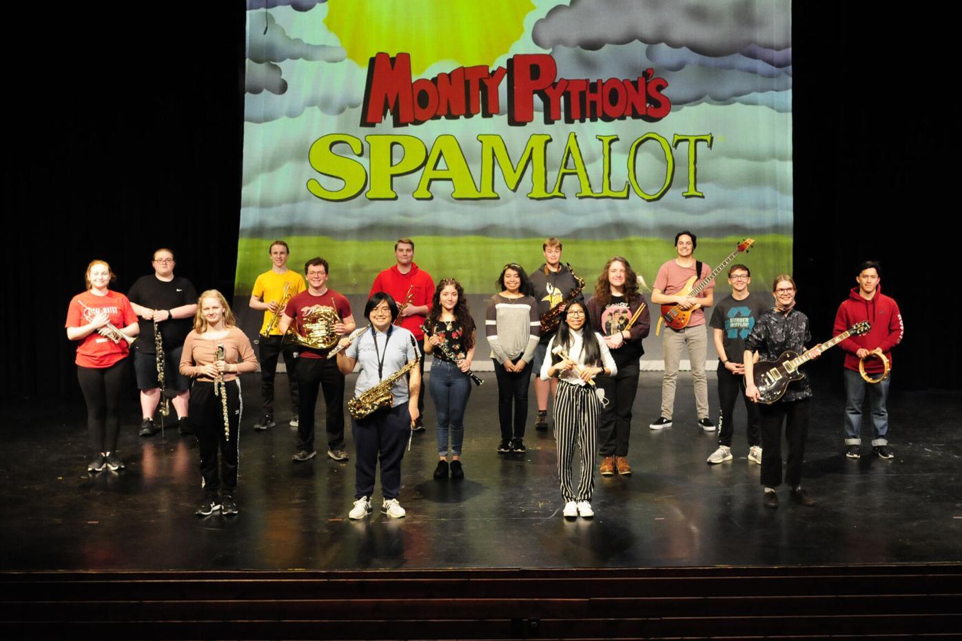 20210409 SLP Musical Spamalot_Pit Orchestra