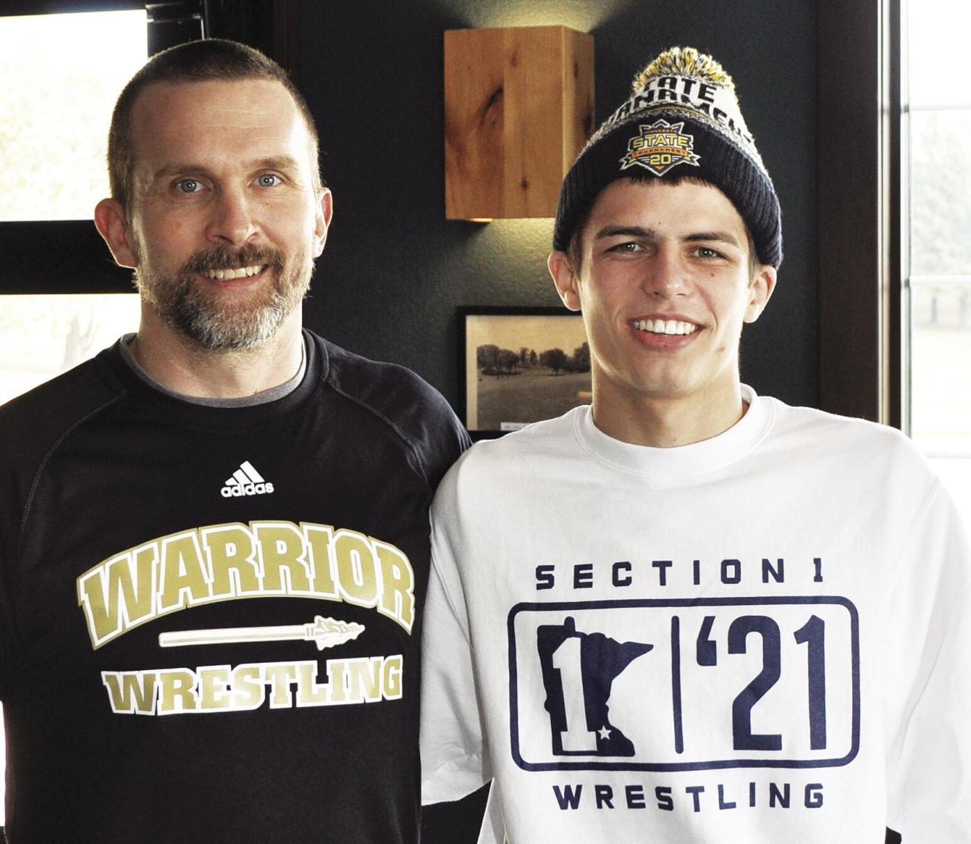 Brandon Ross-Wrestling