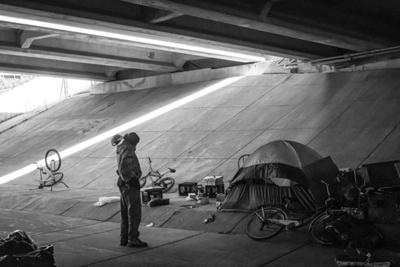 A St. Louis Park photographer's commentary on darkness and light - 1