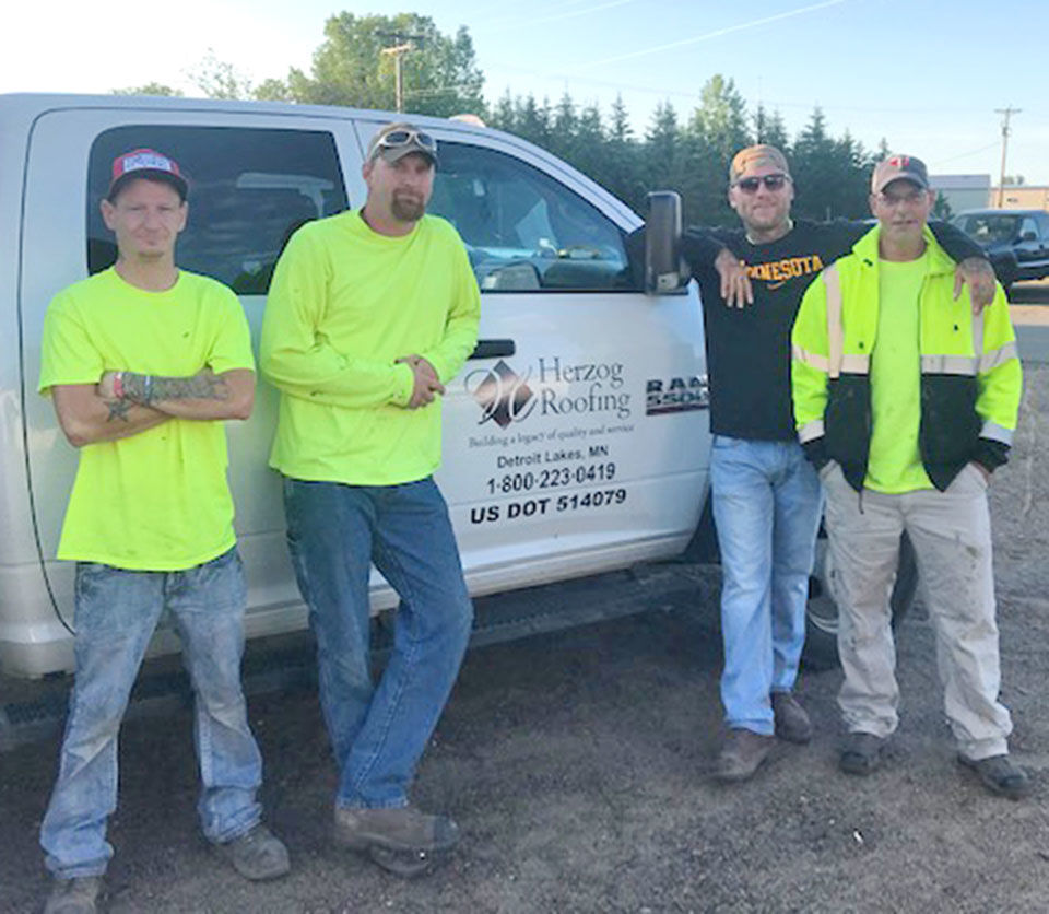 Herzog Roofing employees embrace second chance at life