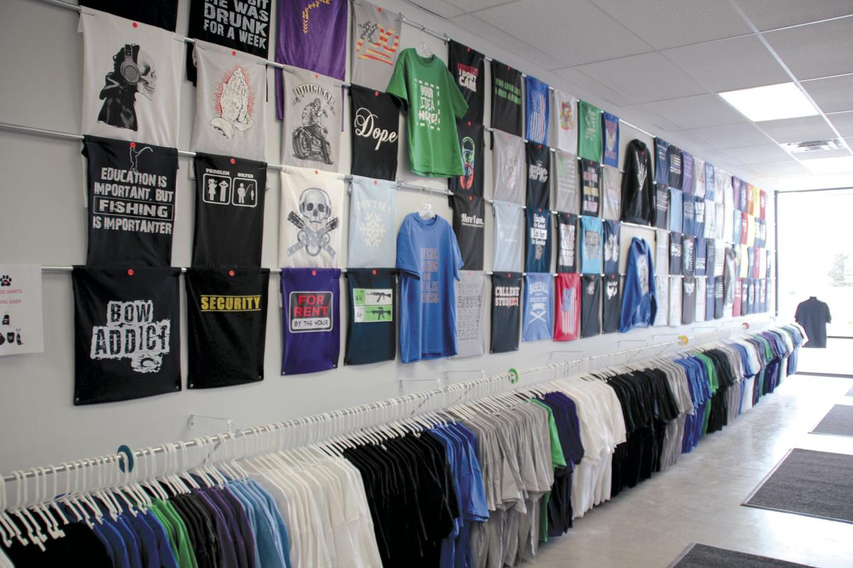 aa3454e3 New store, T-Shirt Lab, offers personalized experience | Business ...