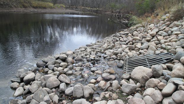 City discharging wastewater into river for first time